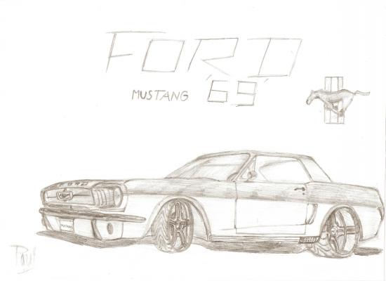 Kresby Ford Mustang 69 Gallery Needforspeed Sk